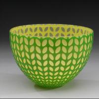 Hand Blown Glass Bowl Centerpieces