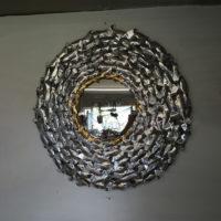 Metal Art Mirror