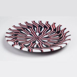 Glass Art Plates