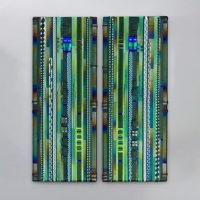 Modern Glass Wall Art
