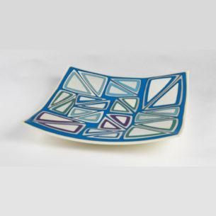 Square Glass Platter