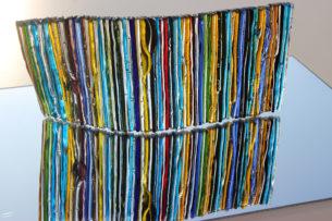 Fused Glass Art Sculptures