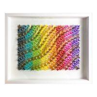 Rainbow Paper Art
