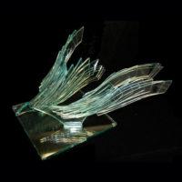 Sculpture Glass Art