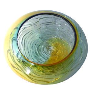 Two Tone Glass Bowls