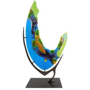 Colourful Glass Art