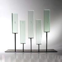 Modern Art Glass Sculptures