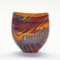 Modern Art Glass Vase