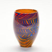 Modern Glass Art Vase